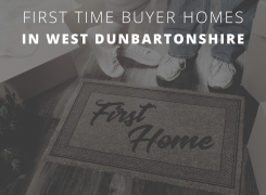 first time buyer homes in west dunbartonshire